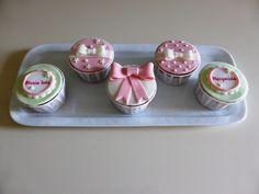 Cupcakes para Batizado