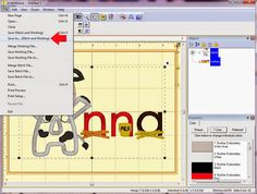 Planet Applique: Combining Applique Letters and Embroidery Fonts In Embrillance Essentials