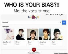 So true. But my main bias would be Jonghyun rn. I love you SHINee! Kdrama Memes, Funny Kpop Memes, Bts Got7, Lee Jin, Shinee Members, Shinee Debut, Finally Happy, Onew Jonghyun, Kim Kibum