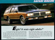 1988 Pontiac Safari Station Wagon.