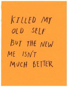 me // aesthetics, words, tumblr, grunge, sad, dark, orange, yellow