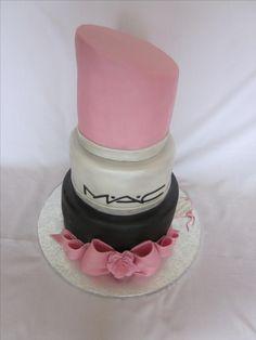 Lipstick cake