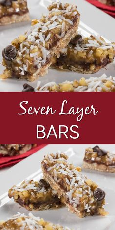 Decadent layer bars get a diabetic-friendly makeover in our recipe for Seven Layer Bars!