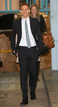 Tom Hiddleston at ITV Studios