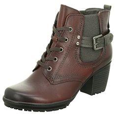 Jana Hi-Top Slippers femme - Rouge - Rouge, 36 - Chaussures jana (*Partner-Link) Bordeaux, Partner, Timberland Boots, Slippers, Wedges, Best Deals, Ebay, Link, Shoes