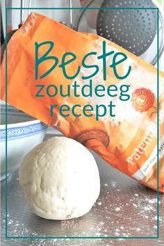 Beste zoutdeeg recept. Maak zelf je klei met producten uit je keuken