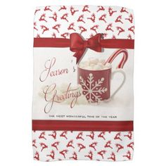 Christmas Holidys Best Time of the Year Kitchen Towel - winter gifts style special unique gift ideas