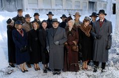 Agatha Christie's Poirot: photos, 2004—2010    British actor David Suchet