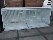Metal Bird Breeding Cages x 2