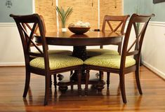 How to Reupholster Dining Room Chairs - DIY Show Off ™ - DIY Decorating and Home Improvement Blog