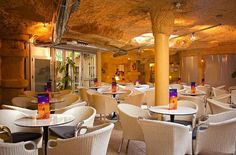 "Terraza ""La gruta"" del #Hotel Diplomatic #Benidorm. ""La Gruta"" Terrace, Enjoy our cocktail and Gin&Tonics"