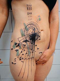 Tattoo von Xoil, Needles Side Tattoo, Thonon-les-Bains (FR)