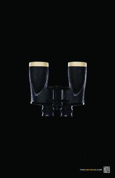Guinness: The Pubfinder, Binoculars