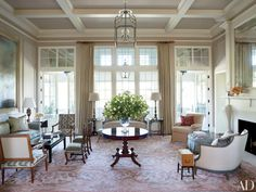 Traditional Interiors by Suzanne Rheinstein & Associates