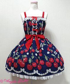 Angelic Pretty Creamy Cherryジャンパースカート