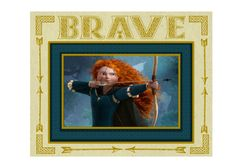 "Free ""Brave"" Party Printables Set"