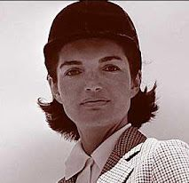 "My favorite equestrienne, Jacqueline ""Jackie"" Lee Bouvier Kennedy Onassis."