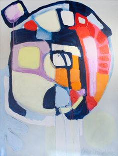 """""""Focus"""" by Claire Desjardins - 36""""x48"""" - Acrylics on canvas. 2012."""