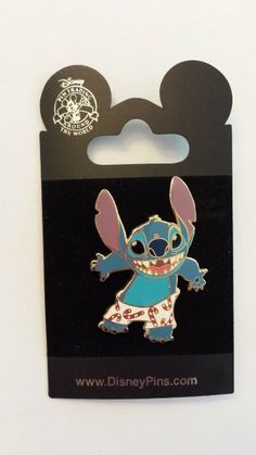 2006 Stitch Christmas Disney Pin Trading Collectible Lapel Pins