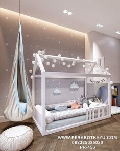 Montessori toddler beds Frame bed House bed house Wood house Kids teepee Baby bed Nursery bed Platform bed Children furniture FULL/ DOUBLE - Bed and Bedcover