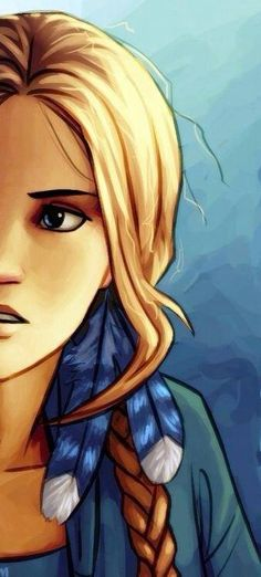 Blond Piper<<<...or that time that Annabeth let Piper do her hair