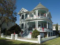 Historic District, Galveston, Texas, USA Photographic Print