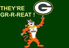 funny since i am from Battle Creek & a packer backer!!