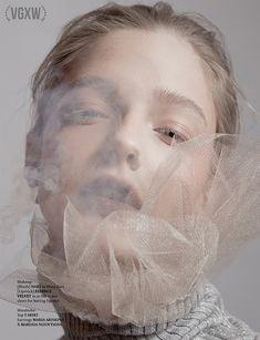 wedding beauty editorial VGXW Magazine: Smoke n Snow by Ilona Veresk - photography - Jewelry Editorial, Beauty Editorial, Editorial Fashion, Conceptual Photography, Portrait Photography, Fashion Photography, Beauty Fotos, Beauty Shoot, Jolie Photo