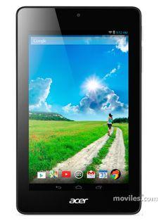 Tablet Acer Iconia One 7 B1-730 (Iconia One 7 B1-730) Compara ahora:  características completas y 2 fotografías. En España el Tablet Iconia One 7 B1-730 de Acer está disponible con 0 operadores: