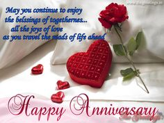 The Greetings - Greet Your Loved One, Lover in Morning Marriage Anniversary Quotes, Happy Anniversary, Joy, Happy Brithday, Glee, Being Happy, Happiness