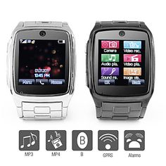 TW - 1.6 Inch Watch Cell Phone (JAVA, MP3, MP4, Bluetooth) – EUR € 82.49