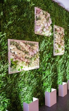 A floral wall is the ultimate wedding decor statement piece.