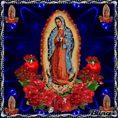 VIRGEN MARÍA Mary Jesus Mother, Blessed Mother Mary, Mary And Jesus, Jesus Is Lord, Holly Pictures, Mother Pictures, Virgin Mary Painting, Care Bears Vintage, Lady Guadalupe