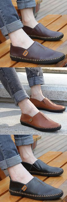 US$45.53+ Free Shipping. 3 colors available. Men loafers, casual comfortable shoes, oxford shoes, boots, Fashion and chic, casual shoes, men's flats, oxford boots,leather short boots,loafers, casual oxford shoes,slip on men's style, chic style, fashion
