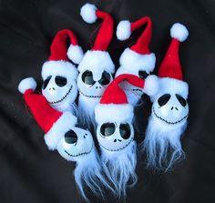 #Jack #Skellington #Santa #Nightmare #Before #Christmas #Baubles