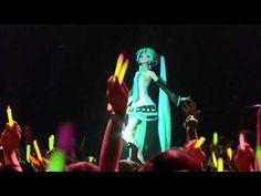 Hatsune Miku | Japan's newest singing sensation is a...hologram. | ▶ Crypton Future Media - Hatsune Miku -- World is Mine - YouTube