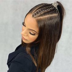 Two Braids, Braids For Long Hair, Loose French Braids, High Ponytails, Fishtail, Grunge Fashion, Gorgeous Hair, Everyday Look, Long Hair Styles