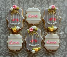 Valentine's Day Cookies 2 | Flickr - Photo Sharing! via #TheCookieCutterCompany