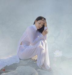 35PHOTO - duong quoc dinh - Ao Dai Vietnam .model: Xuan Van, Photo Duong Quoc Dinh