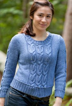 Avenue Cabled Pullover By Tian Foley - Free Knitted Pattern - (ravelry)