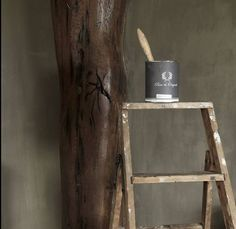 Fresco lime paint by Pure & Original, color Potato Skin. Work in progress by Herberslifestyle. Painted Furniture, Diy Furniture, Plaster Paint, Lime Paint, Traditional Paint, Mineral Paint, Product Information, Paint Finishes