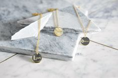 Discover our wonderful range of personalised jewellery by Irish Jeweller Jo Harpur. The new Initial and Birthstone collection from Jo features exquisite disk necklaces, available in sterling silver with gold plating. Personalised Jewellery, Handmade Jewelry, Disc Necklace, Necklaces, Irish Design, Hand Thrown Pottery, Irish Jewelry, Celtic Designs, Birthstones