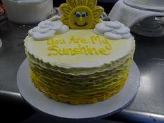 """You are my Sunshine, my only Sunshine."" #SunShine #Cake #Yellow #Happy #CakeCreations"