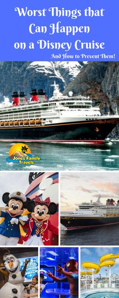 What are the worst things that can happen on a Disney Cruise? Here's how to prevent vacation disaster!