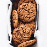 Crispy Chocolate Chip Cookies (Vegan + Paleo) | Feasting on Fruit