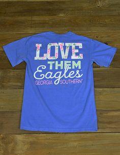 show your school spirit in this new georgia southern - School Spirit T Shirt Design Ideas