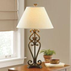 Linden Street Iron Scroll Table Lamp