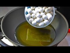 The chef teaches you a new recipe for glutinous rice balls(Tangyuan) - YouTube Sweet Soup, Rice Balls, Glutinous Rice, New Recipes, Eggs, Teaching, Cooking, Breakfast, Food