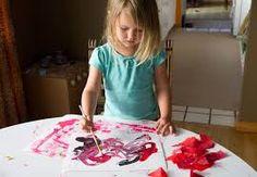 Resultado de imagen de brush painting toddler
