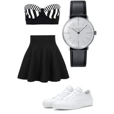 A fashion look from February 2015 featuring Hurley bikinis, Converse sneakers and Klein & more watches. Browse and shop related looks.